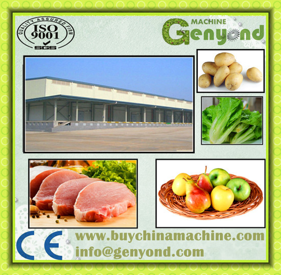 open side cold storage warehouse for chicken