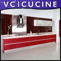 Guangzhou modular laminate kitchen supply