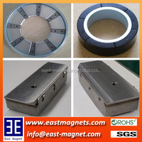 Custom made Permanent Neodymium NdFeB Magnet assembly for Industry/ring or block assembly for constructional or motor