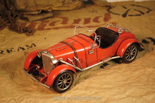 Decorative Vintage Handmade Car Model