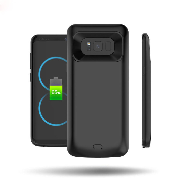 Best selling item TPU soft material portable fast charging case for samsung s8
