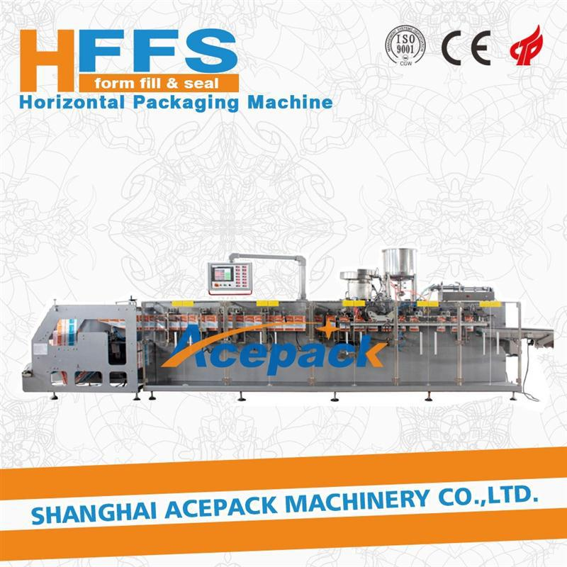 flat sachet dpp-250y automatic liquid blister packing machine aluminium pouch