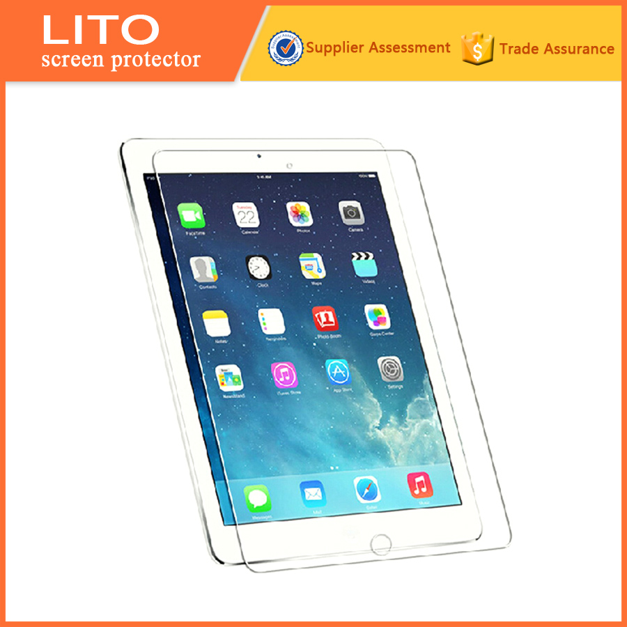 9H Clear laptop tempered glass screen protector for ipad pro