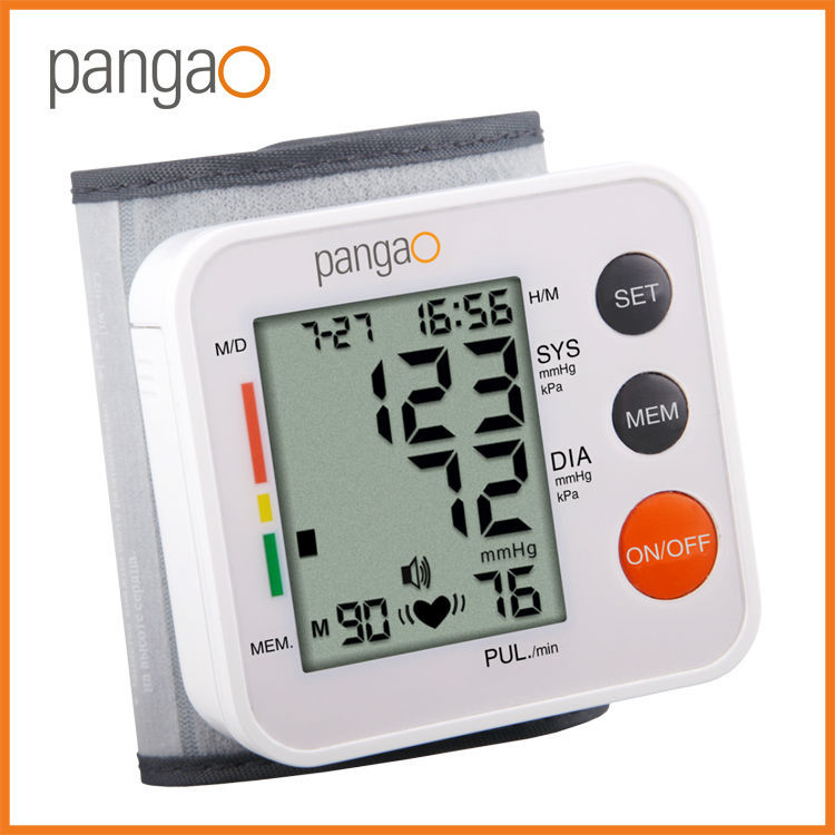 Digital automatic wrist blood pressure monitor PG-800A37