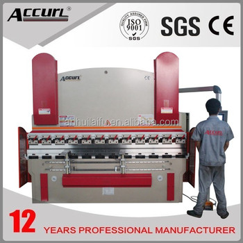 In 2014 Year AccurL CNC Press Break 125T/3200 with Delem System