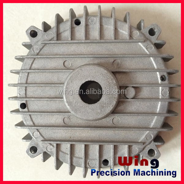 customized aluminum or zinc alloy die casting motorcycle engine parts
