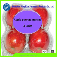 Accept custom order and custom shape food grade clamshell box