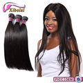 XBL Factory Price 3 Bundles Silky Straight Brazilian Virgin Hair Weave