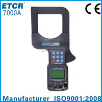 ETCR7000A Large Caliber Leakage Clamp Meter instrument measurement