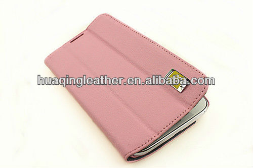Luxury Smart hot sale case for SamSung galaxy note2 with stand and wallet