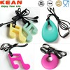 China Manufacturer BPA Free Food Grade Silicone Teething Pendant/silicon pendant mold making