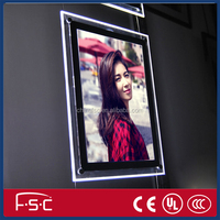 Advertisment of new electronic products led crystal light box