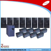 Hot sale off-grid factory price 500W 1000W 2000W 3000W 5000W Solar Power System