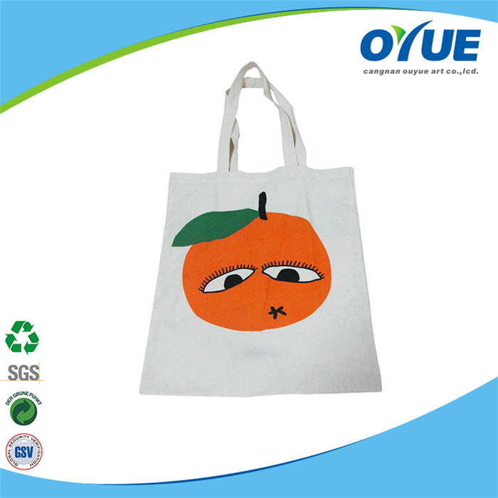 Wholesale customized new fashion tote canvas bags