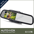 1080p lcd rear view mirror monitor with dvr