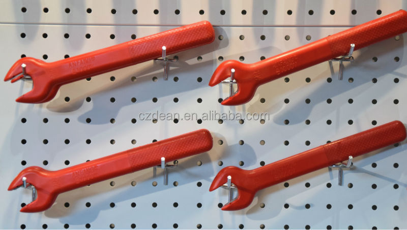 Insulated Open End Wrench DEAN TOOLS, 1000V Insulated Open End Wrench (7, 8, 10, 12, 14mm)