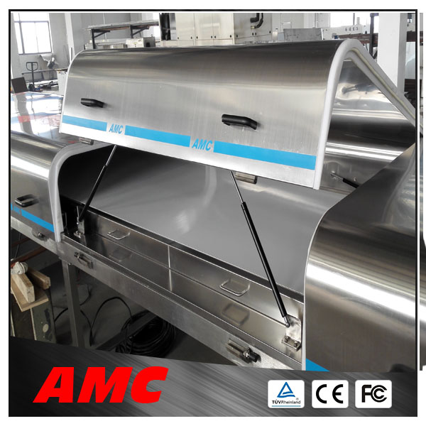 Device Intense Convection Temperature Control fish meat dewatering machine Cooling Tunnel For Production Line