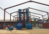 rubber pyrolysis oil machine recycling waste mangment in Rubber Raw Material Machinery