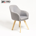 China Supplier Hot Sale Retro Indoor Wooden Leisure Chair
