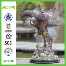 New Home Resin Eagle Sculptures