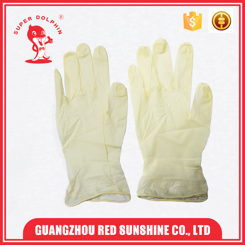 Disposable Non- Sterile Examination Latex Surgical Gloves