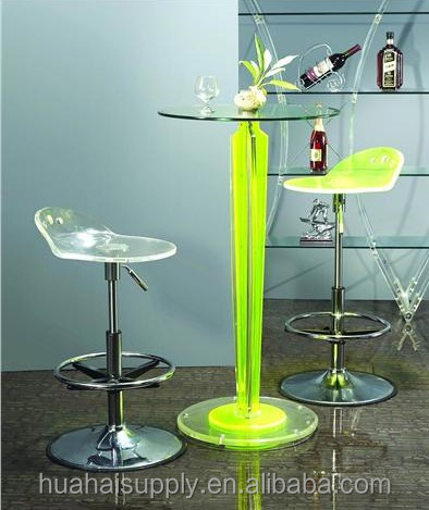 2015 new colorful bar table and chair furniture