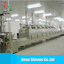 Stainless steel conveyor tunnel type microwave drying machine/stainless steel grain dryer
