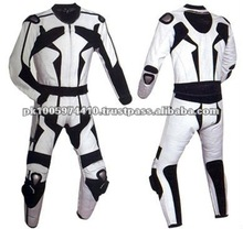 2013 Top Quality 2 Piece Motorcycle Leather Suit