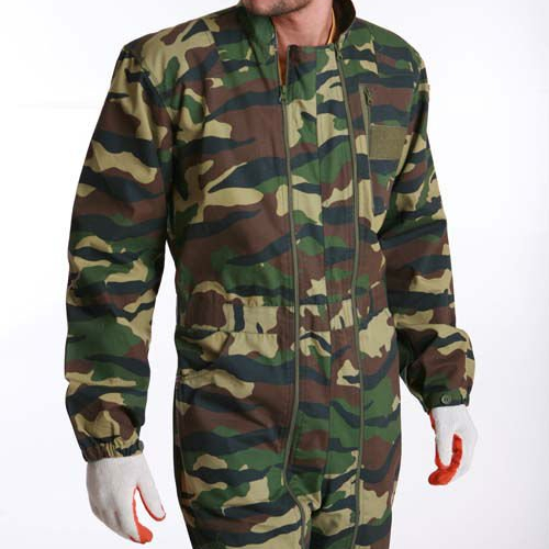 T/C 65/35 Camouflage Print Insulation Coveralls Workwear