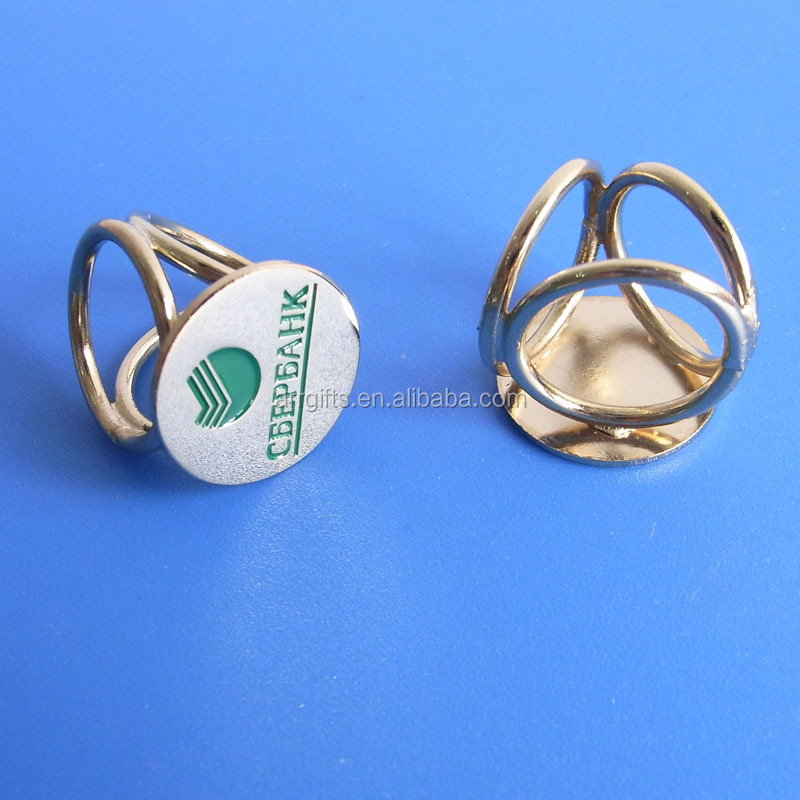 Metal Scarf Ring For Russian, Bespoke Your Logo Russian Ring For Scarf
