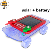 DIY Science Toy Solar Car With