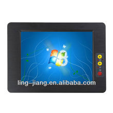with 2LAN and waterdog tablet computer (PPC-084C), supports wifi and 3G module for optional