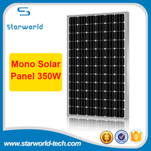 300W-350W high efficiency PV cells Aluminium Alloy frame mono crystalline solar panel for sale