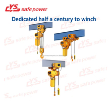 1- 10 ton Wire Rope Electric Hoist With Wireless Remote control