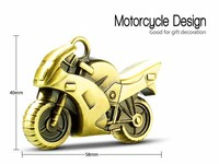 Bulk high quality motorcycle shaped usb pen drive with free custom LOGO