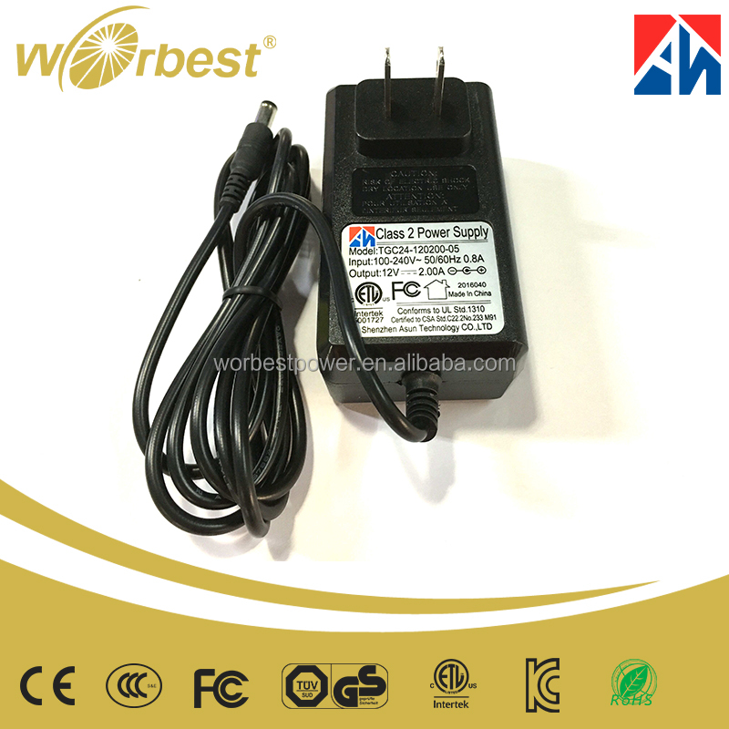 Worbest Shenzhen Set Top Box Power Supply 12volt 2amp