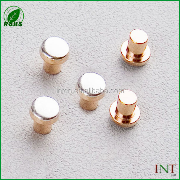 Home appliance electronic components low voltage electrical contact rivets