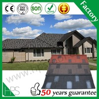 Color roof tile long span bitumen maroon shingle roofing waterproof tile