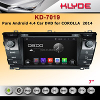 android 4.4 Multiple Touch Screen 2 Din Car Audio Cheap Car Multimedia For corolla 2014