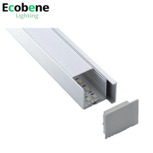 Extruded alu led profile for linear aluminum channel lighting