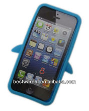 beautful silicone cover case for iphone5 5S