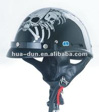 HD hot sale dot approved harley half face motorcycle helmet