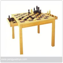 py5019 wood antique chinese chess set