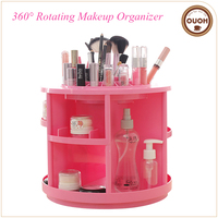 Paragraph-blasting 360 Rotatable Nummular Plastic Nice Cosmetic Organizer And Makeup Storage