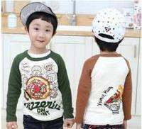 Wholesale Boy Kids Clothes Fashion New Design Printed T-Shirt From China