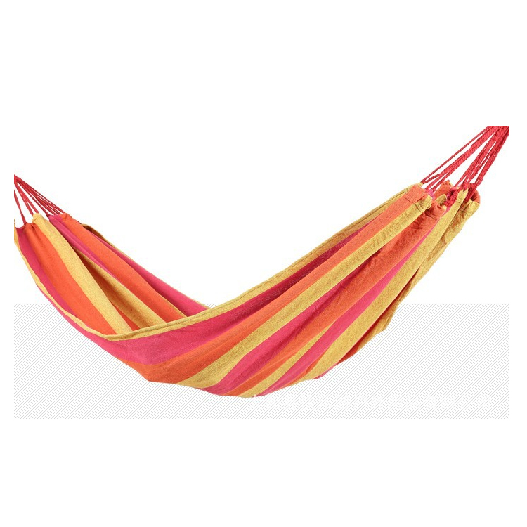 Hot selling custom outdoor hanging polyester baby hammock swings