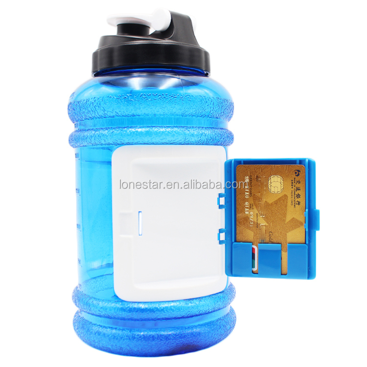 Plastic Kettle Fitness Outdoor Sports Creative Portable Large Capacity BPA free PETG 2.2LSports Kettle