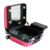 Factory Supply Portable Makeup Case with trolley and lights lightweight makeup box