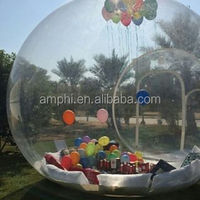 inflatable human snow globe, inflatable Christmas snow globe, inflatable decoration ball