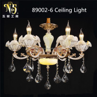 Flower Petal Glass Lampshade European Style Pendant Light China Factory Certified CE UL SAA VDE etc